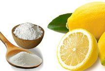 citron et bicarbonate