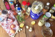 sauces and dressings (paleo)