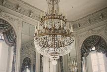 chandeliers / by Fashion-isha