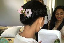The bridal base wedding hair / Hair by our fabulous team of hairstylists #weddinghair #bridalhair #hairup