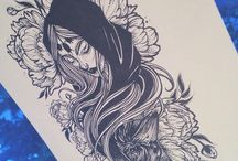 Desenho tinta da China