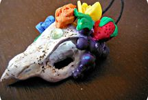 Jewelery / These are polymer clay creations created by yours truly.