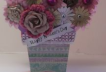 FLOWER POT SHAPED CARD - THE CUTTING CAFE