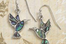 Beautiful bird & insect jewellery / Beautiful jewellery designs incorporating butterflies, hummingbirds and dragonflies all made using natural Abalone shell. Wholesale orders welcome from Talbot Fashions. Please visit our website for terms www.talbotfashions.com