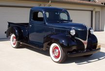 This Old Truck / Planning to have an old farm truck one day and I've got my heart set on late 30's to late 40's dodge. The design of these is just art to me.