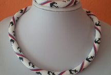 my crochet beads / Rainbow set
