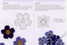 kwiatuszki szydełkowe