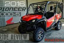 2016 Honda Pioneer 1000 - 5 Ride Review - Specs + More | SxS / UTV / Side by Side ATV / Detailed Pioneer 1000 Info: HP / Top Speed / Price - UTV / SxS / Side by Side / 4x4 Utility Vehicle