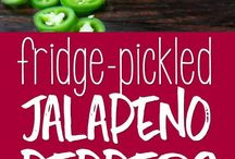 Jalepeno peppers pickled