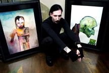 Marilyn Manson's Artwork