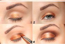 Instruktioner ögonskugga