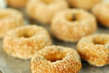 Doughnuts / I love doughnuts whether you spell it doughnut or donut! / by Maureen | Orgasmic Chef
