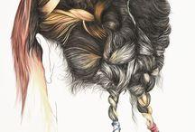 Art: hair / by Abbey Trescott
