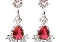 Margaret Rowe Diamontage™ Long Earrings / Gorgeous simulated diamond earrings by Margaret Rowe Couture