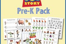 Kid learning packs/themes / by Leah