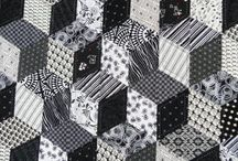 B&W quilts