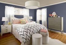 Blue bedroom / Inspiration for blue bedroom