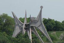 Sculpture / Des sculptures qui m'inspirent ou que j'ai réalisées / by Michelle Blanc