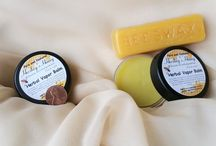 All Natural Herbal Vapor Balm (For Cold and Flu) with Essential Oils / Breathe easy with this AMAZING natural herbal vapor rub. This formula was made with essential oils that helps relieve congestion due to sinuses, allergies, and colds. Also useful as a muscle rub or all-purpose balm.