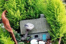 ogród balkon