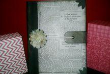 Cuadernos alterados / Cuadernos decorados