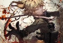 """Youjo Senki / """"Oh, God... I'll slice you to tiny pieces and feed you to the pigs!"""""""