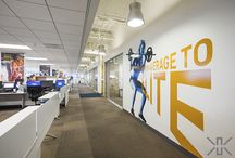 Beachbody / With the success of P90X, Beachbody's growth has been phenomenal.  Kamus + Keller worked with Beachbody to create a fun, creative headquarters office in El Segundo, CA.