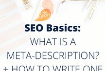 SEO Tips + Guides / Tips and guides to help you understand and implement the best search engine optimization for your website. Increase your blog traffic with SEO + start attracting more of your IDEAL clients!