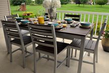 outdoor furniture / by Mary Souchek Morris