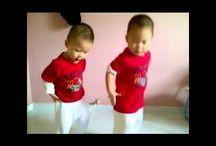 Babies dancing gangnam style