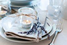 Сервировка стола / Идеи для сервировки стола - креативная сервировка стола,  праздничная сервировка стола, обеденный этикет.