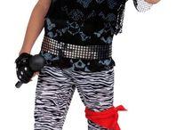 Disfraz rockero Umpa lumpa