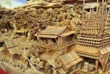 Скульптура, созданная Чжэн Чунхуи