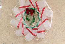 Emergency Room crafts!!!  / Urinal wreath for holiday decor / by Lauren Kelly