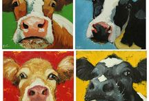 Cow board