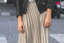 Pleated fashion