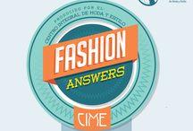 """Fashion Answers - CIME / """"Fashion Answers"""" es una producción  gráfica sobre temas del universo de la moda,  del Centro Integral de Moda y Estilo, CIME, de la ciudad de Guadalajara, México; exclusiva  para su perfil en la plataforma Pinteres®."""
