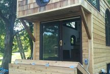 Tiny with front deck extension