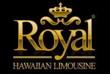 Royal Hawaiian limousine