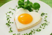 Моя любимая яичница! / блюда из яиц
