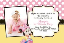 Alivia's 1st Birthday / by April Woolley