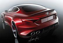 Automotive - Exterior sketches