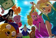 Hora De Aventuras Anime