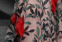 fashion floral motive