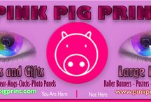 Pink Pig Print Site / Some images from our website www.pinkpigprint.com