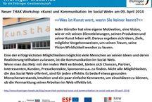 """Workshop """"Kunst und Kommunikation im Social WEB"""" / Am 09. Mai 2014 hatte ich die Aufgabe übernommen, in Zusammenarbeit mit der Thüringer Agentur für die Kreativwirtschaft den Workshop >>Kunst und Kommunikation im Social Web« in Erfurt zu gestalten.  Hier ein Bericht über den Workshop. http://frankkoebsch.wordpress.com/2014/04/25/ein-bericht-uber-den-workshop-kunst-und-kommunikation-im-social-web/ #kunst #social #keativ #kreativwirtschaft #workshop"""