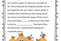 Family Projects - preschool