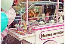Ice cream cart design