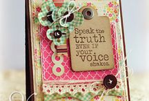 cards/scrapbook / by Vicky Brookens Claypoole