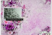 """Violet Silence / Inspirations of our Design Team using """"Violet Silence"""" collection."""